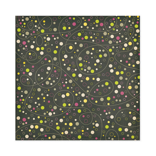 We R Memory Keepers - Retro Glam Collection - 12 x 12 Glitter Paper - Ingrid