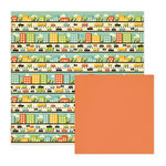 We R Memory Keepers - Out and About Collection - 12 x 12 Double Sided Paper - Neighborhood Street, CLEARANCE