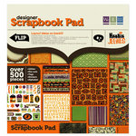 We R Memory Keepers - Heebie Jeebies Collection - Halloween - 12 x 12 Designer Scrapbook Pad, CLEARANCE