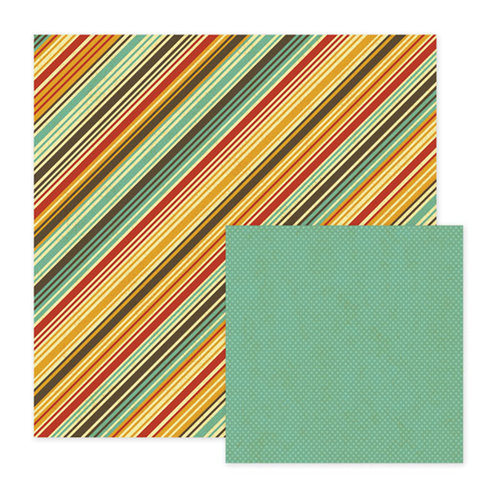 We R Memory Keepers - Maple Grove Collection - 12 x 12 Double Sided Paper - Elm