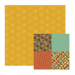 We R Memory Keepers - Maple Grove Collection - 12 x 12 Double Sided Paper - Oak