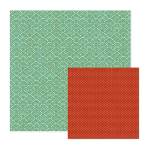 We R Memory Keepers - Maple Grove Collection - 12 x 12 Double Sided Paper - Aspen