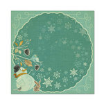 We R Memory Keepers - Merry January Collection - 12 x 12 Foiled Paper - Frost