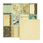 We R Memory Keepers - Merry January Collection - 12 x 12 Double Sided Paper - Crisp