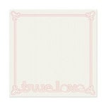 We R Memory Keepers - Be My Valentine Collection - 12 x 12 Stitched Cardstock - True Love
