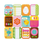 We R Memory Keepers - Peep Collection - Easter - 12 x 12 Die Cut Paper - Easter Tags
