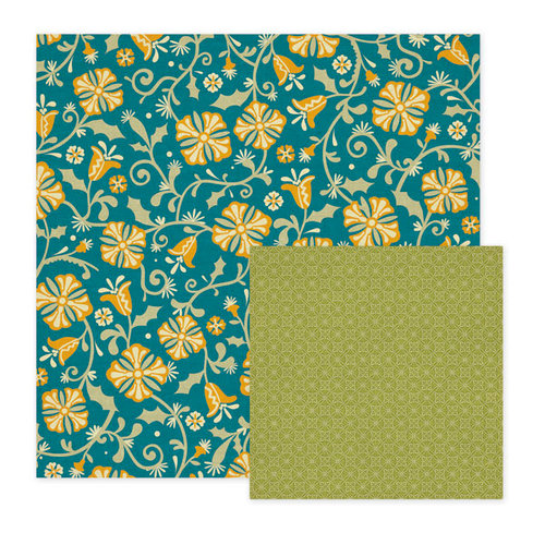 We R Memory Keepers - Fiesta Collection - 12 x 12 Double Sided Paper - Bonita