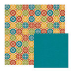 We R Memory Keepers - Fiesta Collection - 12 x 12 Double Sided Paper - Rica