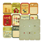 We R Memory Keepers - Friends Furever Collection - 12 x 12 Double Sided Die Cut Paper - Furry Friends