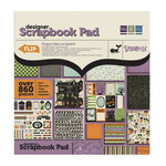 We R Memory Keepers - Spookville Collection - Halloween - 12 x 12 Designer Scrapbook Pad