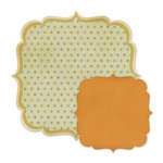 We R Memory Keepers - Autumn Splendor Collection - 12 x 12 Double Sided Die Cut Paper - Dahlia