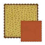We R Memory Keepers - Autumn Splendor Collection - 12 x 12 Double Sided Die Cut Paper - Linden