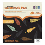 We R Memory Keepers - Autumn Splendor Collection - 12 x 12 Textured Cardstock Pad