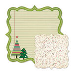 We R Memory Keepers - Peppermint Twist Collection - Christmas - 12 x 12 Double Sided Die Cut Paper - Dear Santa