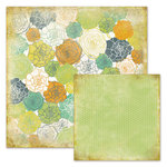 We R Memory Keepers - Good Day Sunshine Collection - 12 x 12 Double Sided Paper - Lisa