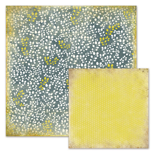We R Memory Keepers - Good Day Sunshine Collection - 12 x 12 Double Sided Paper - Sandra