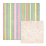 We R Memory Keepers - Cotton Tail Collection - 12 x 12 Double Sided Paper - Easter Basket