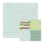 We R Memory Keepers - Baby Mine Collection - 12 x 12 Double Sided Paper - Baby Blue
