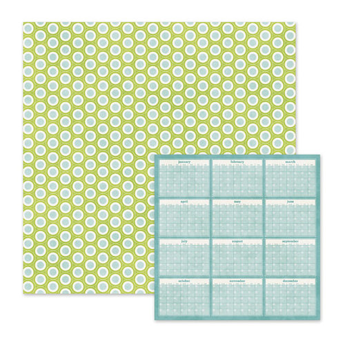 We R Memory Keepers - Baby Mine Collection - 12 x 12 Double Sided Paper - Cutie Pie