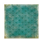 We R Memory Keepers - Anthologie Collection - 12 x 12 Glitter Paper - Damask