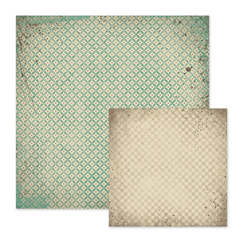 We R Memory Keepers - Down the Boardwalk Collection - 12 x 12 Double Sided Paper - Barnacle