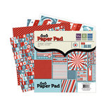 We R Memory Keepers - Red White and Blue Collection - 6 x 6 Paper Pad