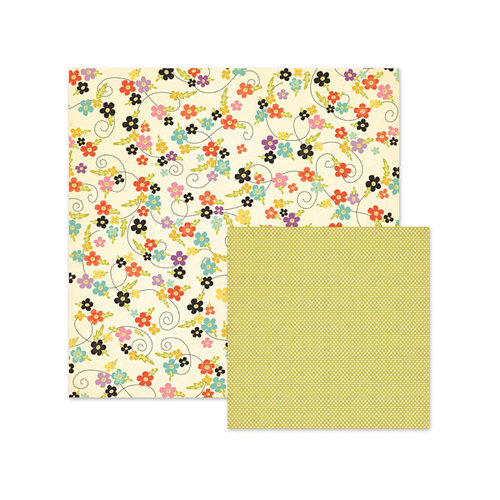 We R Memory Keepers - Love 2 Craft Collection - 12 x 12 Double Sided Paper - Calico