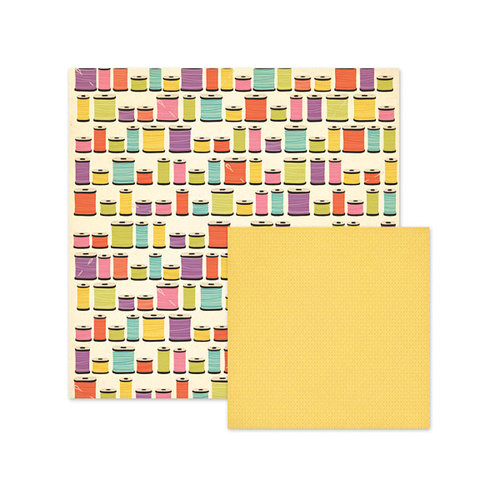 We R Memory Keepers - Love 2 Craft Collection - 12 x 12 Double Sided Paper - Spools