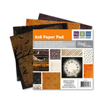 We R Memory Keepers - Black Widow Collection - Halloween - 6 x 6 Paper Pad