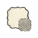 We R Memory Keepers - Antique Chic Collection - 12 x 12 Double Sided Die Cut Paper - Gertrude