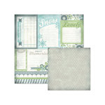 We R Memory Keepers - Winter Frost Collection - 12 x 12 Double Sided Paper - Cards