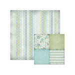 We R Memory Keepers - Winter Frost Collection - 12 x 12 Double Sided Paper - Frost