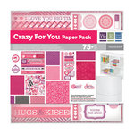 We R Memory Keepers - Crazy For You Collection - 12 x 12 Stack Pack