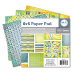 We R Memory Keepers - Feelin' Groovy Collection - 6 x 6 Paper Pad