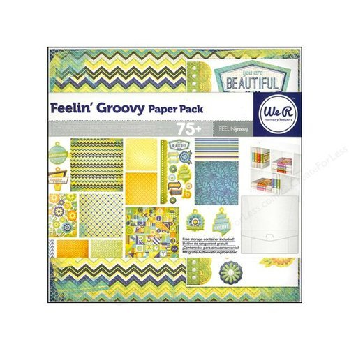 We R Memory Keepers - Feelin' Groovy Collection - 12 x 12 Paper Pack