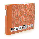 We R Memory Keepers - Albums Made Easy - 12 x 12 Three Ring Turned Edge Albums - Tangerine
