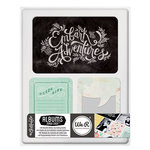 We R Memory Keepers - Albums Made Easy - Journaling Cards - Chalkboard
