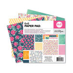 We R Memory Keepers - Inked Rose Collection - 6 x 6 Paper Pad