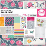 We R Memory Keepers - Inked Rose Collection - 12 x 12 Paper Pack
