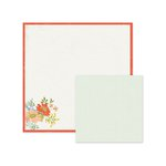 We R Memory Keepers - Farmers Market Collection - 12 x 12 Double Sided Paper - Traditional