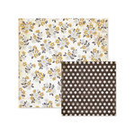We R Memory Keepers - Indian Summer Collection - 12 x 12 Double Sided Paper - Wild Flower
