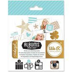 We R Memory Keepers - Teresa Collins - Albums Made Easy - Instagram Journaling Cards - Studio Gold