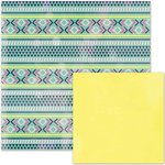 We R Memory Keepers - It Factor Collection - 12 x 12 Double Sided Paper - Boho Carpet
