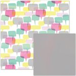 We R Memory Keepers - It Factor Collection - 12 x 12 Double Sided Paper - Gossip