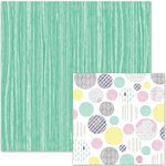 We R Memory Keepers - It Factor Collection - 12 x 12 Double Sided Paper - Teal Trunk