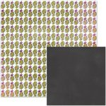 We R Memory Keepers - It Factor Collection - 12 x 12 Double Sided Paper - Pineapple