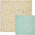 We R Memory Keepers - Shine Collection - 12 x 12 Double Sided Paper - Glisten