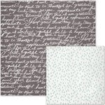 We R Memory Keepers - Shine Collection - 12 x 12 Double Sided Paper - Loved