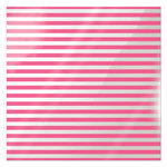 We R Memory Keepers - Clearly Bold Collection - 12 x 12 Acetate Paper - Neon Pink Stripe