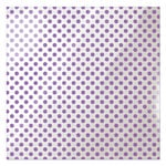 We R Memory Keepers - Clearly Bold Collection - 12 x 12 Acetate Paper - Neon Purple Dot